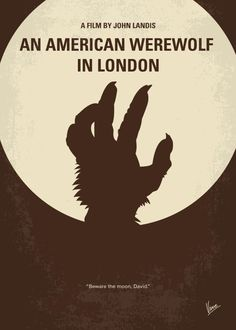 My American werewolf in London minimal movie poster Art Print by ChungkongMMP - X-Small Love Posters, Vintage Posters, American Werewolf In London, Minimal Movie Posters, Movie Poster Art, Old Movies, Print Artist, Cool Artwork, Horror Movies