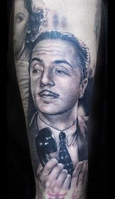 Realism Movies Tattoo by Shane O Neill - http://worldtattoosgallery.com/realism-movies-tattoo-by-shane-o-neill-3/