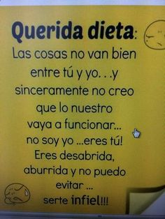 Dieta #adelgazarhumor