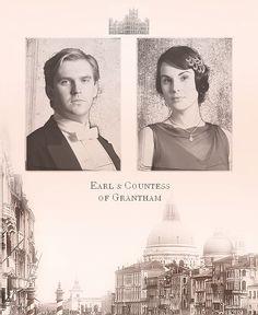 Earl & Countess of Grantham