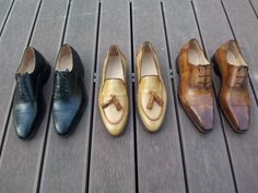 #bespoke shoes , #custom made , hand #painted #leather , #oxford #derby #loafer #monkstrap #boot