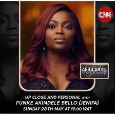 Funke Akindele Bello (JENIFA of Jenifa's Diary) on CNN African Voices 28th May, 2017. Tune in and watch. Congratulations @funkejenifaakindele Keep making Africa Proud�� #askmeafrikamedia #nigeria #lagos #africa #africanfashion #checkoutafrica #press #sports #fashion #pop #cultura  #relax #moderno #model #photography #mua #hair #stello #fashionshows #celebrity #models #designers #makeup #nigerianwedding #luxury #movies http://tipsrazzi.com/ipost/1524662659310841352/?code=BUosJxShm4I