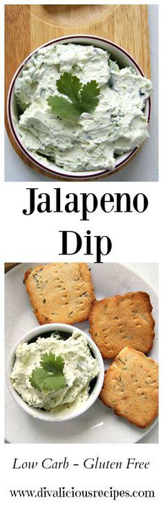 Jalapeno Cream Cheese Dip  Recipe: http://divaliciousrecipes.com/2017/05/01/jalapeno-cream-cheese-dip/