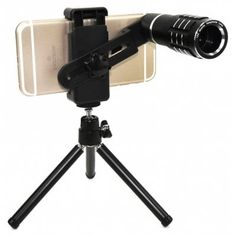Just US$17.32 + free shipping, buy Topaul MS12X007 12X Zoom HD Telescope Phone Lens Tripod online shopping at GearBest.com.