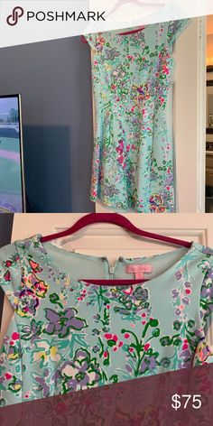 833185f5abbe Floral Lilly dress! Beautiful and very comfortable Lilly P fit & flare!  Perfect condition
