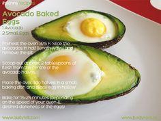 Avocado Baked Eggs | Hiit Blog