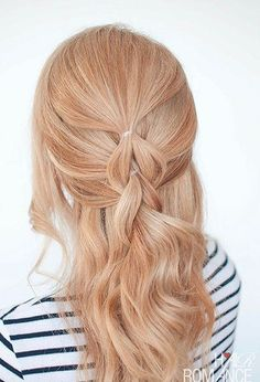 "The ""No Braid"" Pull Through Braid - 101 Braid Ideas That Will Save Your Bad Hair Day (Photos)"