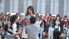 "Flashmob Surprise Proposal Charice 「Louder」 JR大阪駅 ""カリヨン広場  フラッシュモブ サプライズ..."