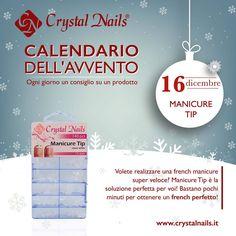 Calendario dell'avvento Crystal Nails - 16  dicembre #crystalnails #manicuretip
