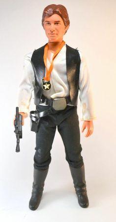 "Vintage Star Wars Han Solo 12"" Doll Complete Kenner  #Kenner #kenner #starwars #actionfigure #actionfigures #rotj #esb #vintage #toys #retro #retrotoys #vintagetoys #1980s #1970s #vintagestarwars"