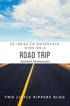 road trip with kids Travel with kids entertain kids