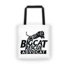 Lovingly added this new Big Cat Rescue Ad... for you.  What do you think? http://catrescue.myshopify.com/products/big-cat-rescue-advocat-tote-bag?utm_campaign=social_autopilot&utm_source=pin&utm_medium=pin