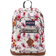 66daecc1a51e Jansport Austin Floral Memory Backpack ( 45) ❤ liked on Polyvore featuring  bags