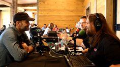 Interviewing Tim McGraw in Nashville