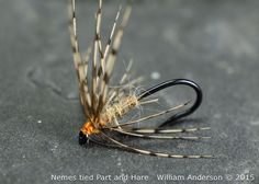 Sylvester Nemes original tied flies. The Partridge and Hare. Soft Hackle Flies, Nemes Patterns, North Country Spider. WilliamsFavorite.com
