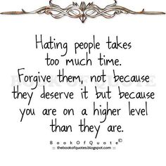 Hope I can stop hating you.