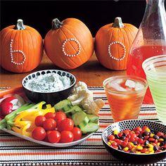Halloween Snack Spread halloween halloween party halloween decorations halloween crafts halloween ideas diy halloween halloween party decor halloween party theme