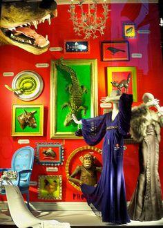 Drop by the Croc Corner at Bergdorf Goodman I still think the perfume shop was genius!