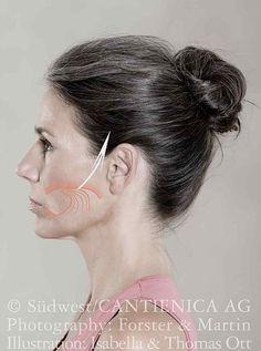Lernen Sie hier das CANTIENICA®-Faceforming kennen, ein Gesichtstraining, um die Muskulatur am Kopf und im Gesicht zu straffen.