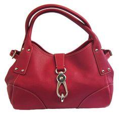 Rachael Harris' Red Dooney & Bourke Handbag