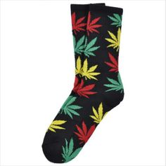 NEW THC plantlife Huf weed cannabis socks 420 leaf knee high buy it now at  http://stores.ebay.com/1stoptrendshop