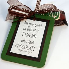 """Cute and easy """"cheer up"""" gift"""