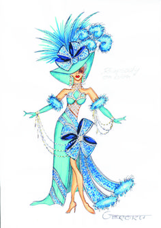 """Moulin Bleu"" (F) Rapsodie in Blau"