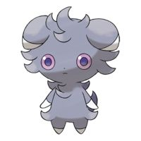 Pokemon X and Y - espurr is just so cool! It is so cute and creepy at the same time and can blow you up whenever it wants so be nice!