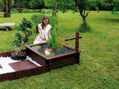 Pour agrémenter le jardin, on installe un bassin avec des poissons. Voici cinq bassins de jardin aquatique à acheter dans le commerce.