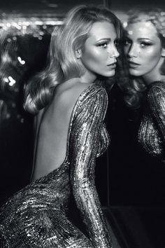 Blake - Gucci - perfection. Love the glam and black and white
