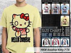 Kaos Hello Kitty Terbaru, Kaos Hello Kitty Couple Family, Kaos Hello Kitty Anak-anak, Kaos Gambar Hello Kitty Ukuran Anak