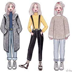 Noora has the best style // Skam