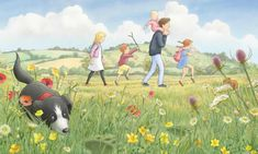Ditch the grammar and teach children storytelling instead - The Guardian. An illustration from We're Going On A Bear Hunt Michael Rosen Books, Hunt Costume, Famous Books, Young Family, Secondary School, English Lessons, School Teacher, Life Skills, Creative Writing