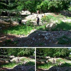 > Continúan brigadas de limpieza en alrededores del Cachón Mamey  #Jaraguenses #VillaJaragua