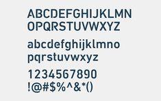 Customised typeface