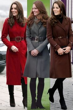 Kate Middleton chic coats-she really does have the best collection of coats!