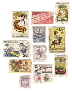Julianna Swaney's lovely Czech stamp collection