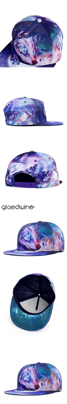Glaedwine Brand Trendy Fashion Color Printing Snapback Baseball Caps For Men Women Couple Hip Hop Hats High Quality Cotton Bone