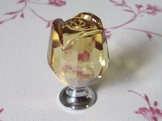 Shabby Chic Glass Kitchen Cabinet Knobs / by LynnsGraceland, $7.00