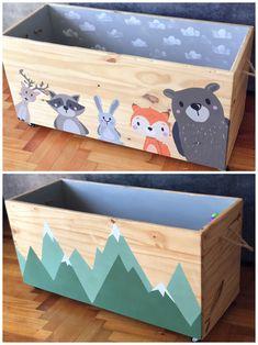 Baby Boy Rooms, Baby Bedroom, Baby Room Decor, Kids Bedroom, Diy For Kids, Crafts For Kids, Ideias Diy, Kids Room Design, Baby Toys