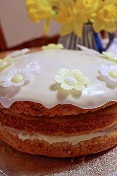 A Little Bit Greedy: Birthdays always require cake: lovely lemon layer ...