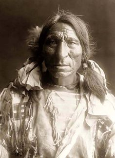 Elk Boy, an Oglala Warrior. It was created in 1907 by Edward S. Curtis.
