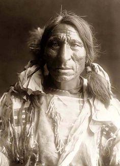 Elk Boy, an Oglala Warrior. It was created in 1907 by Edward S. Curtis.
