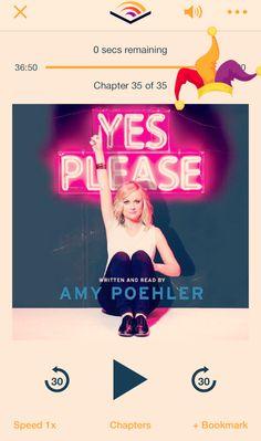 El sentir en los libros  #ElSentirenlosLibros #AmyPoehler #YesPlease #Books #Book #Reading #Lectura #Libros
