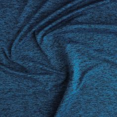 75b7d0a2ef41 Space Dyed Athletic Knit - Ocean | Blackbird Fabrics Blackbird, Knitted  Fabric, Knits,