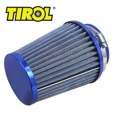 T11649b TIROL Round Tapered Mini Power Stack Air Intake/ Air Filter Diameter 76mm Blue #Affiliate