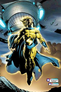 The Sentry by David Finch (Marvel comics)