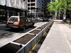 vancouver buffered bike lane