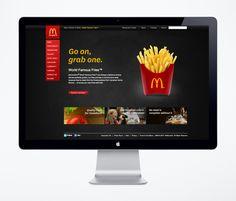 Mc Donald's Canada #WebDesign