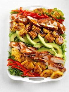 California Grilled Turkey Chef's Salad - delicious!
